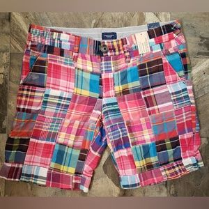 American Eagle Plaid Shorts NWT Size 8